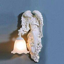 HJW Dekorative Beleuchtung Wandleuchte Engel