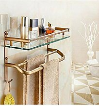 HJW Durable Regale Badezimmer Storage Racks
