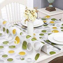 HJW Durable Tischmatte Pvc-Tischdecke Wasserdicht
