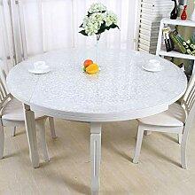 HJW Durable Tischmatte Runde Tischdecke