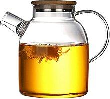 HJW Nützliche Kessel Glas Kessel Teekanne Mit
