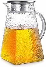 HJW Nützlicher Kessel Teekanne Glas Wasserkrug