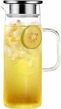 HJW Nützlicher Kessel Wasserkrug Glas Teekanne
