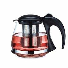 HJW Nützlicher Wasserkocher Glas Teekanne