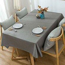 HJW strapazierfähige Tischdecke aus Baumwolle