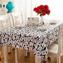 HJW Strapazierfähige Tischdecke Mode europäische