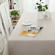 HJW Strapazierfähige Tischdecke Tischdecke
