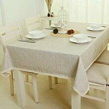 HJW strapazierfähige Tischdecke Tischdecke Stoff