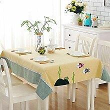 HJW Strapazierfähige Tischmatte Europäische