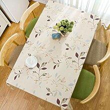 HJW Strapazierfähige Tischmatte Europäische PVC