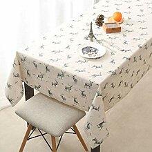 HJW Strapazierfähige Tischmatte Pastorale