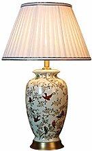 HJY Home Einfachheit Keramik Tischlampe