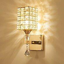 HJZ Moderne Kristall Wandleuchte LED Kreative
