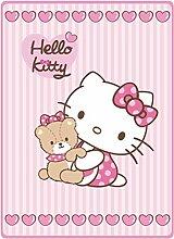 HK Babydecke Kinderdecke Kinderwagendecke Hello