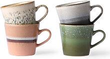 HK living 70's Ceramic Cappuccino stream Tasse
