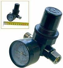 HK MERRY Werkzeuge 0.64 cm Regler In-Linie Luftdruck Controller & Messgeräte für Druckluft Werkzeuge 214109