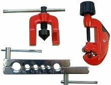 HK MERRY Werkzeuge 3 pc imperisch Bördelgerät Set 3-28MM Rohrabschneider 371213