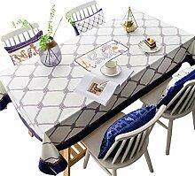 HKDZB Tischdecke, modern, minimalistisch,