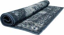 HKliving Extra Overdyed Teppich 180x280 Blau (l)