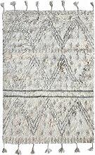 HKliving Handwoven Woolen Berber Teppich 120x180