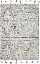 HKliving Handwoven Woolen Berber Teppich 180x280