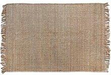 HKliving - Jute Teppich natur, 200 x 300 cm