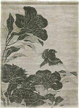 HKliving Linen Chart Floral Wanddekoration (b)