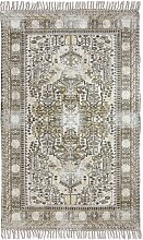 HKliving Printed Overdyed Dusty Teppich 120x180