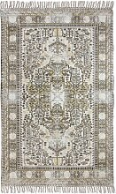 HKliving Printed Overdyed Dusty Teppich 180x280