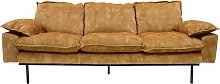HKliving Retro Sofa 3-Sitzer (b) 225 X (t) 95 X
