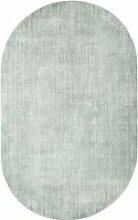 HKliving - Teppich oval, 150 x 240 cm, mintgrün