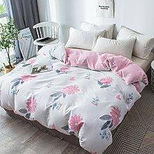 HKYhomewhy Flamingo Bettwäsche-Set mit