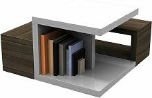 HL Design MDF Couchtisch mit Melamin, Sonoma Eiche