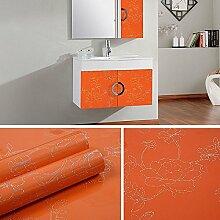 HL-Dicke Farbe Tapete Schrank Möbel Dekoration Aufkleber Schrank Schränke solid öl- und wasserabweisende Aufkleber 60 CM*5 M, S, 60 cm*5 m,