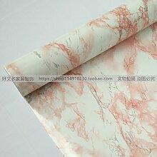 HL - Die Küche Fliesen Farbe öl Aufkleber Kabinett Tischplatte wasserfeste Selbstklebende Folie Marmor Tapete 60 CM*5 M, Typ 8319,60 cm*5 m