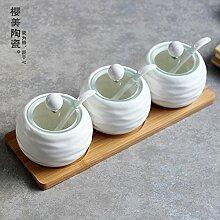 HL-Gewürze Flasche Keramik Küche würzen,