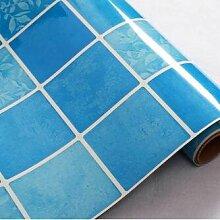 HL-Haushalt Küche ölfesten isolierende Fliesen Aufkleber Marmor Kamin mit selbstklebenden Sticker 60cm*5 M, M, 60 CM*5 M,