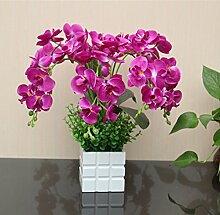 HL-HZH-Künstliche Blumen aus Seide dekorative