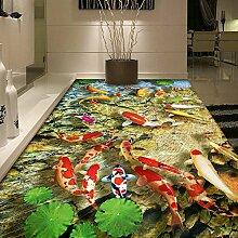 HL-PYL @Carpet-3D Pad mat Mat mat Rutschfeste Teppich, 50 x 80 cm, A,