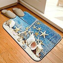HL-PYL @Carpet-Mat mat Tür Maschinenwäsche Wasser wc mat Badematte, 60 x 90 cm.