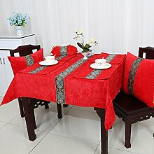 HL-PYL Europäische Tischdecke Tuch Mat