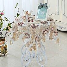 HL-PYL-europäischen Stil Tischdecke Glas Garn
