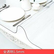 HL-PYL PVC Soft Glas Tischdecke Wasserdicht