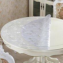HL-PYL-Soft Glas Runden Tisch PVC-Runde Tischdecke
