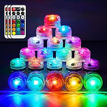 HL Submersible LED Mini Lights Wasserdichtes RGB