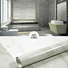 HL-verdickte Küche ölfesten Hitzebeständige Aluminiumfolie Aufkleber selbstklebende Fliesen an der Wand wasserdicht Rauch herd Schrank angebracht mit 60 cm*5 m, K, 60 cm*5 m,