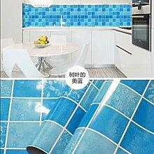 HL-Verdickung Küche anti Öl Aufkleber Herd Oberfläche Renovierung, wasserfest, Öl, Brandschutz, hohe Temperatur Aluminium Bernstein über die Verhütung der Ölverschmutzung 60 CM*5 M, H, 60 CM*5 M,