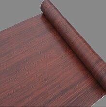 HL-Verdickung PVC selbst eingehalten Tapeten, wasserdichte Tapete, Holz, Stoff, Schrank, Tür, Schrank, Möbel, Aufkleber 45cm * 10m, Typ 2001,45 cm * 10 m