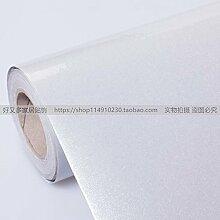 HL - Wasserdicht kühlschrank Sticker, Backen weiße Tapeten, selbstklebenden Tapeten, Fliesen Türen Schränke, Schrank beschichtetes Papier 60 cm*5 m, A, 60 cm*5 m,