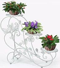HLC 3 Töpf Metall Pflanzer Blumentänder